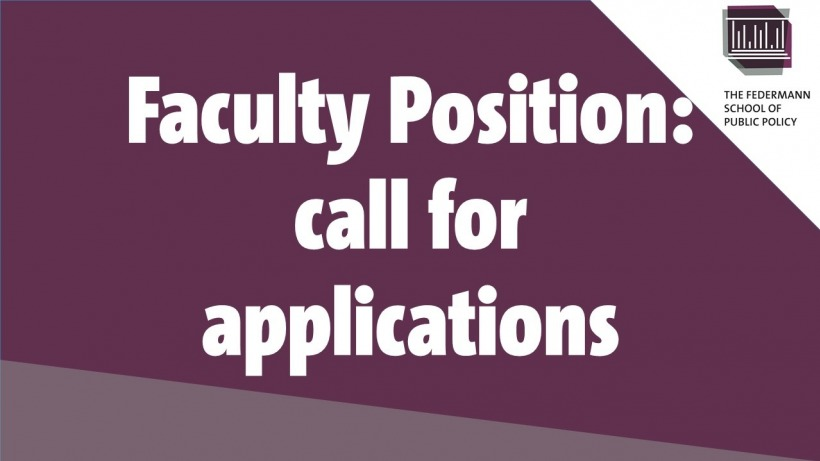 faculty position